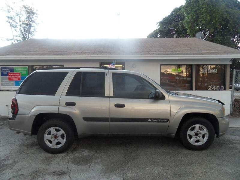 2003 CHEVROLET TRAILBLAZER LS 4DR SUV silver please call less than 6000 at 888-865-0893 have ba