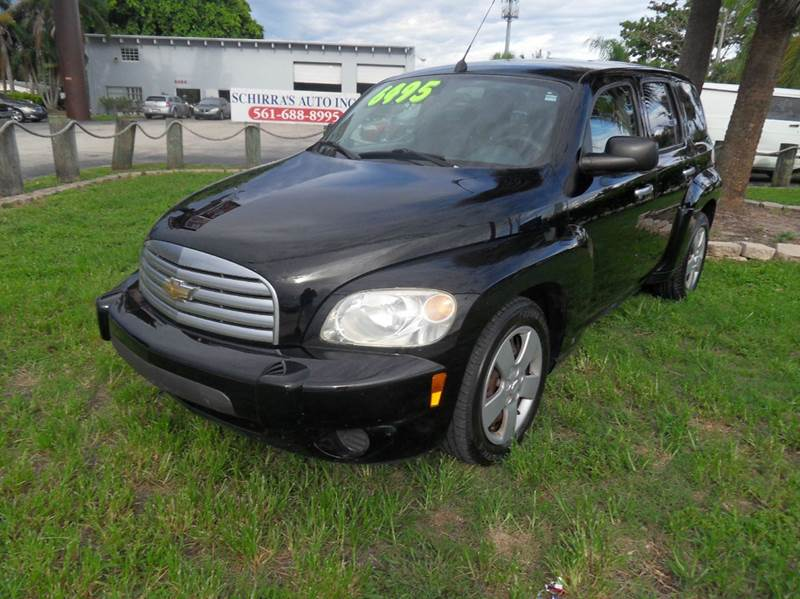2006 CHEVROLET HHR LS 4DR WAGON black please call schirras auto at 888-865-0893  have bad credit