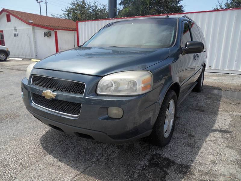 2005 CHEVROLET UPLANDER LT 4DR MINI VAN blue please call less than 6000 at 888-865-0893  have b