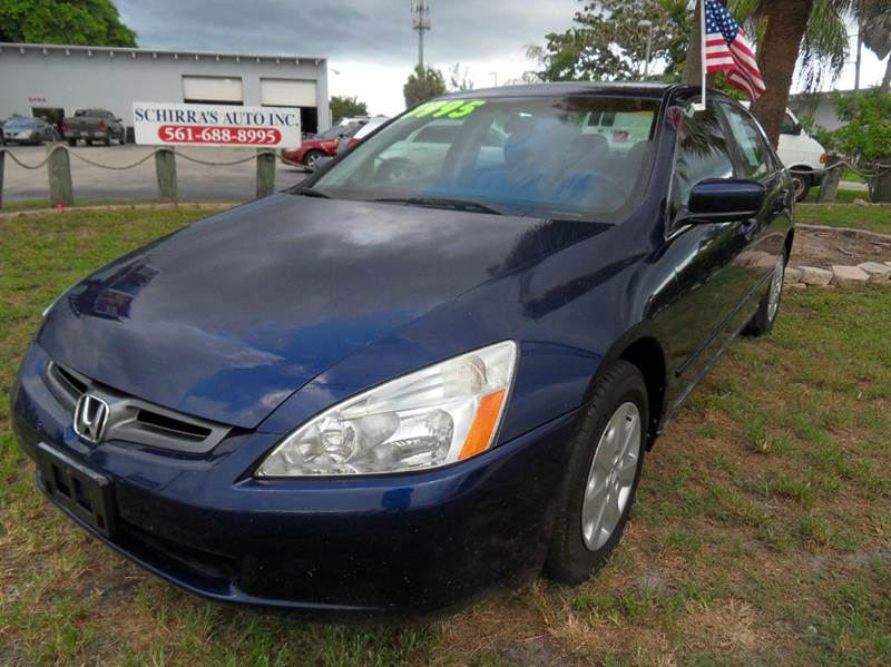 2004 HONDA ACCORD LX 4DR SEDAN blue please call schirras auto  at 888-865-0893  have bad credit