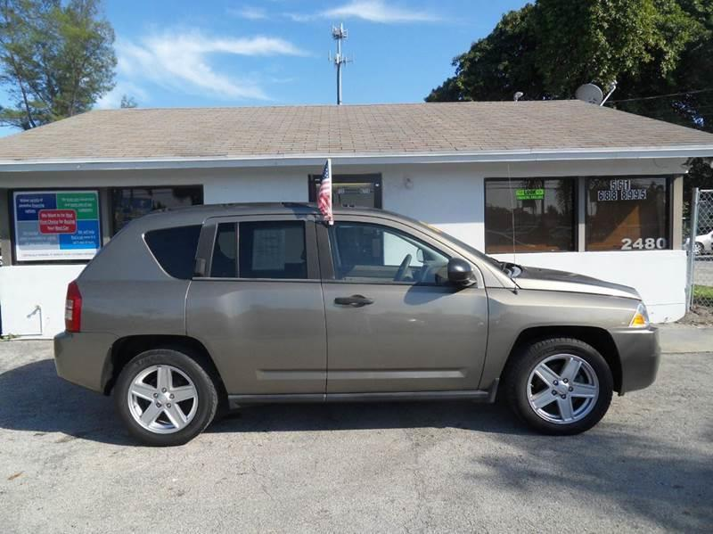 2007 JEEP COMPASS SPORT 4DR SUV gold please call schirras auto ii at 866-383-7643  have bad cred