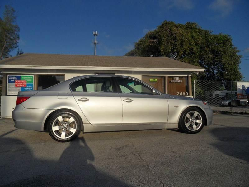 2004 BMW 5 SERIES 525I 4DR SEDAN silver please call schirras auto at 888-865-0893 have bad cred