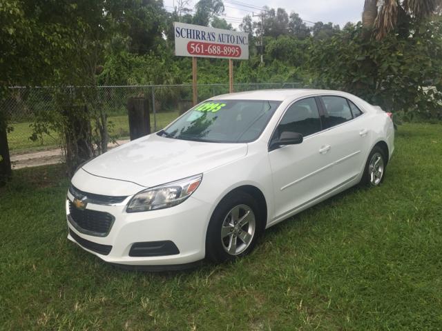 2015 CHEVROLET MALIBU LS FLEET 4DR SEDAN white please call schirras auto at 866-383-7643  have b