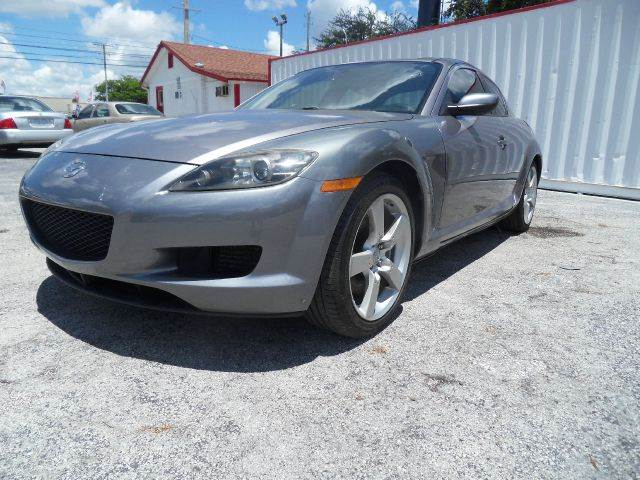 2004 MAZDA RX-8 BASE 4DR COUPE 13L 2RTR 6M gray please call less than 6000 at 888-865-0893