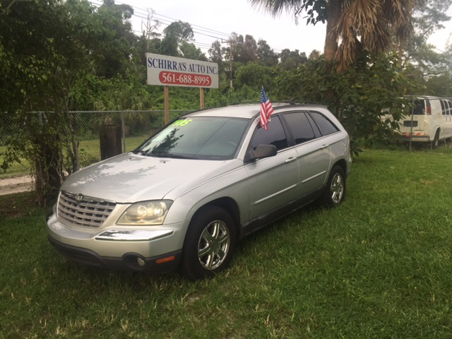 2005 CHRYSLER PACIFICA TOURING 4DR WAGON silver abs - 4-wheel anti-theft system - alarm center