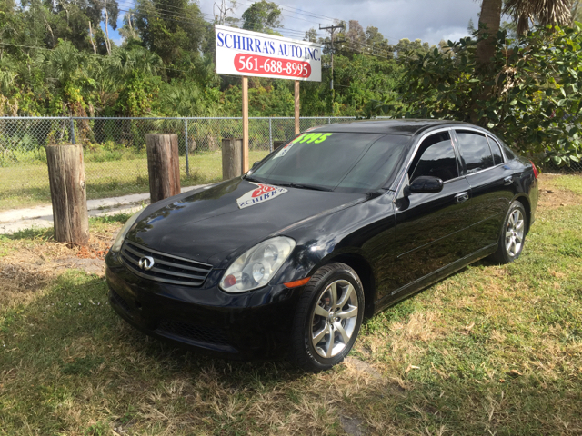 2006 INFINITI G35 X AWD 4DR SEDAN black please call schirras auto ii at 866-383-7643  have bad c