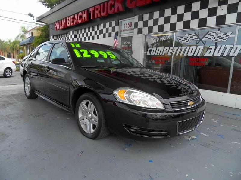 2013 CHEVROLET IMPALA LT FLEET 4DR SEDAN black please call competition auto sales at 888-865-0893