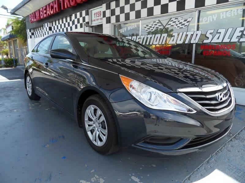 2012 HYUNDAI SONATA GLS 4DR SEDAN 6A blue please call competition auto sales at 888-865-0893  hav