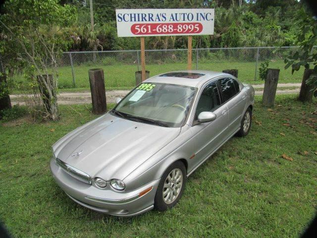 2003 JAGUAR X-TYPE 25 AWD 4DR SEDAN silver please call schirras auto at 866-383-7643  have bad