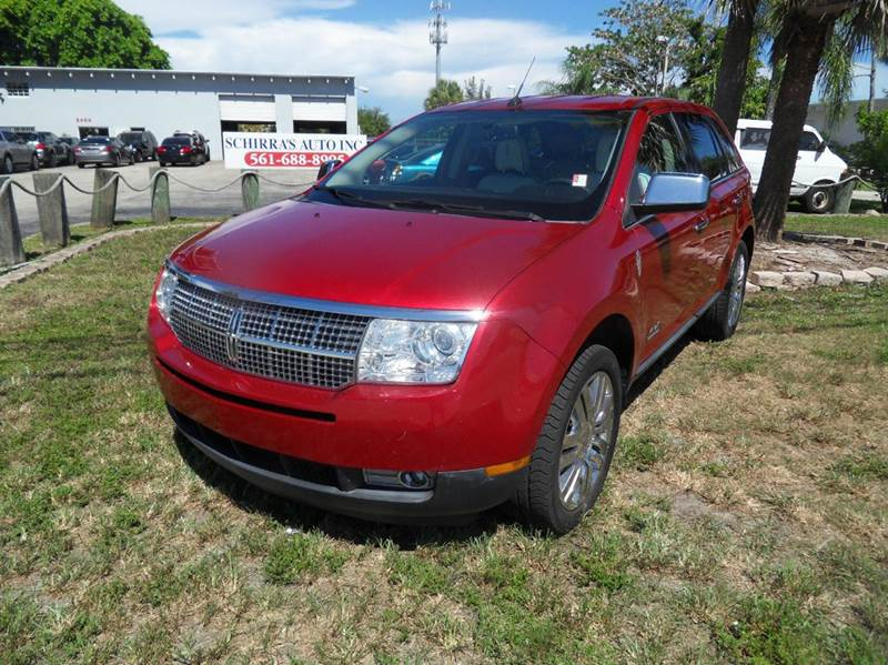 2010 LINCOLN MKX BASE 4DR SUV red please call competition auto at 888-865-0893   have bad credit