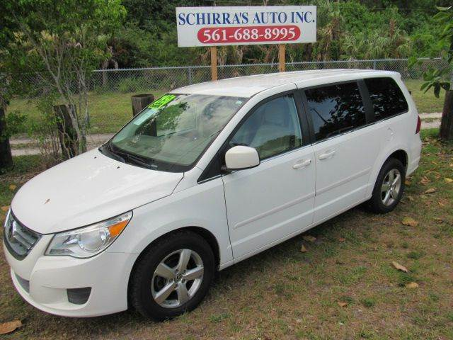 2010 VOLKSWAGEN ROUTAN SE 4DR MINI VAN white please call schirras auto ii at 866-383-7643  have b
