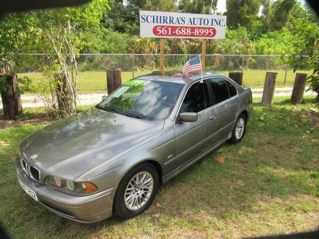 2003 BMW 5 SERIES 530I 4DR SEDAN gray please call schirras auto at 866-383-7643  have bad credit