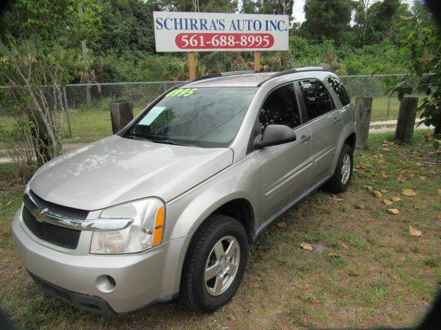2008 CHEVROLET EQUINOX LS AWD 4DR SUV silver please call schirras auto at 866-383-7643  have bad
