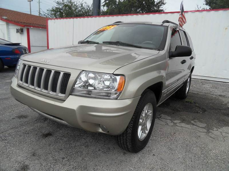 2004 JEEP GRAND CHEROKEE COLUMBIA EDITION 4DR SUV beige please call less than 6000 at 888-865-08