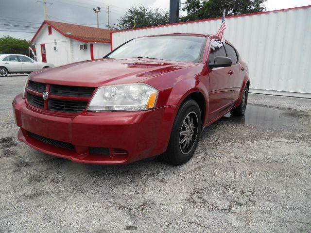 2008 DODGE AVENGER SE 4DR SEDAN red please call less than 6000 at 888-865-0893 for any informatio