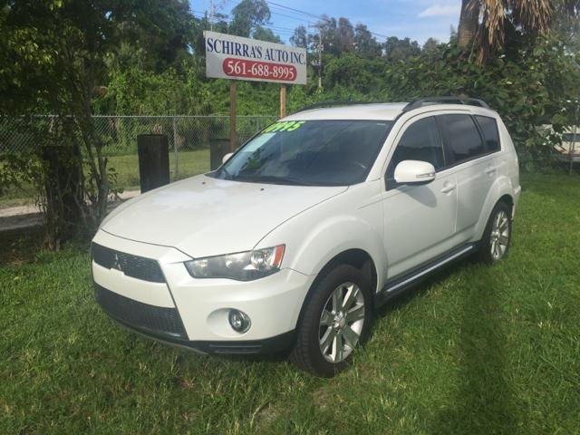 2010 MITSUBISHI OUTLANDER SE 4DR SUV white please call schirras auto ii at 866-383-7643 have bad
