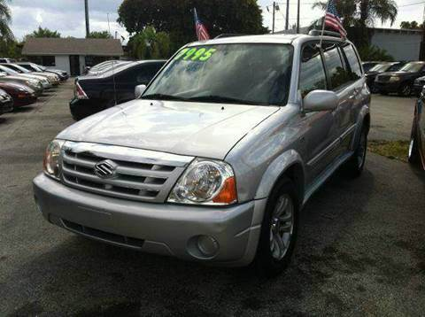 2005 SUZUKI XL7 EX III 4DR SUV silver have bad credit have no credit no problem your job is yo
