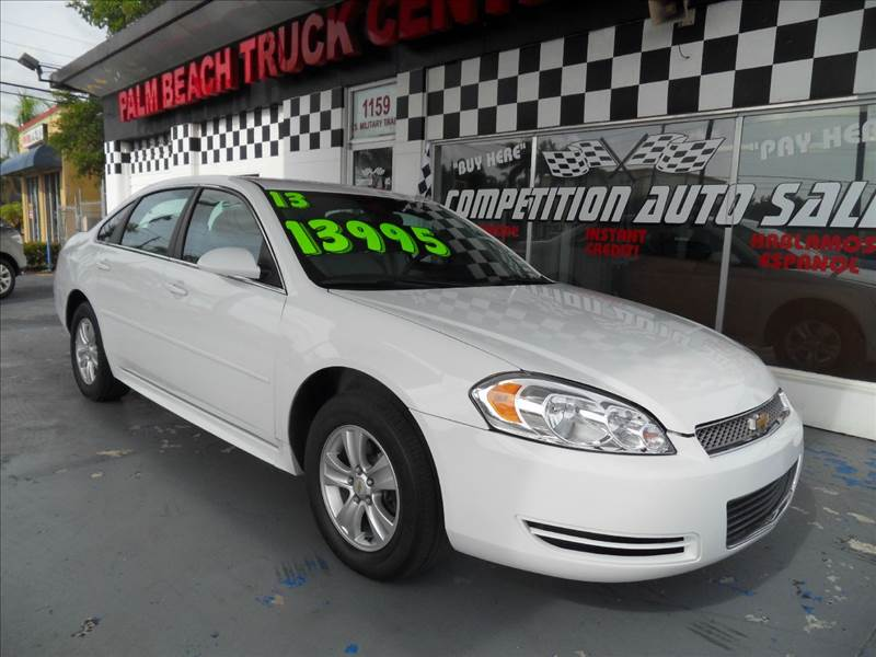 2013 CHEVROLET IMPALA LS FLEET 4DR SEDAN white please call competition auto sales at 888-865-0893