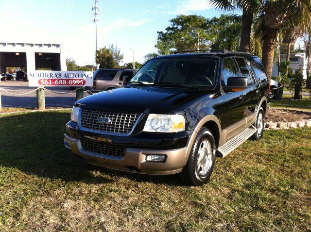 2004 FORD EXPEDITION EDDIE BAUER 4WD 4DR SUV black please call less than 6000 at 888-865-0893