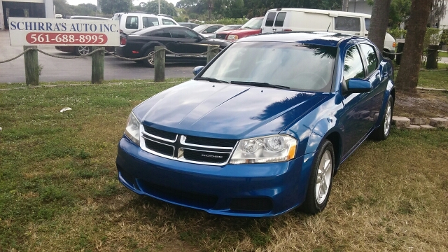 2012 DODGE AVENGER UNSPECIFIED unspecified air conditioning alarm system alloy wheels amfm ra