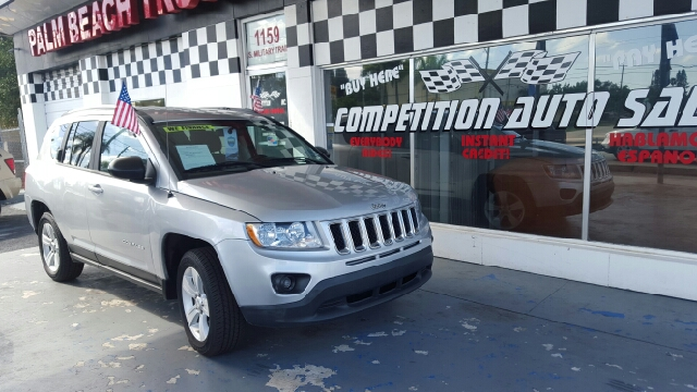 2011 JEEP COMPASS UNSPECIFIED silver 83174 miles VIN 1J4NT1FA8D248666