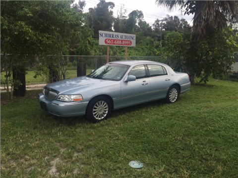 2005 Lincoln Town Car for sale in West Palm Beach, FL