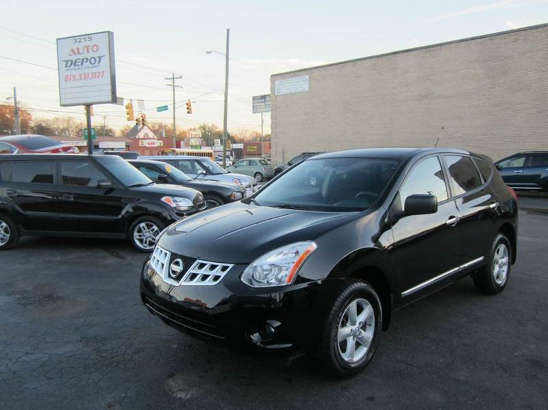 2012 nissan rogue s 4dr crossover in nashville tn auto depot. Black Bedroom Furniture Sets. Home Design Ideas