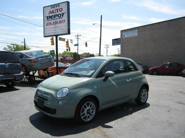 Fiat 500 for sale in tennessee for Electric motors nashville tn