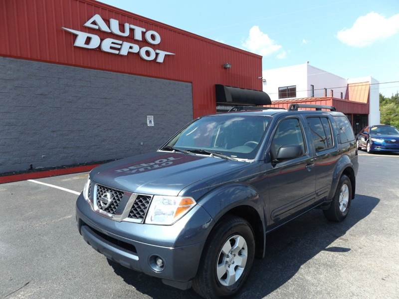2007 nissan pathfinder le 4dr suv in nashville tn auto depot. Black Bedroom Furniture Sets. Home Design Ideas