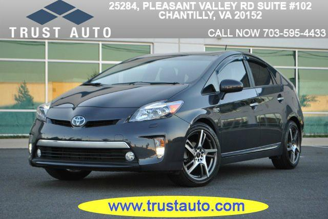 2012 Toyota Prius Plug-in Hybrid for sale in Chantilly VA