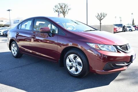 2015 Honda Civic for sale in Hemet, CA