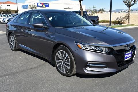 2018 Honda Accord Hybrid for sale in Hemet, CA