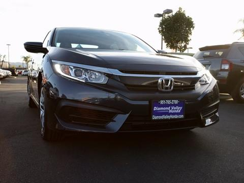 2017 Honda Civic for sale in Hemet, CA