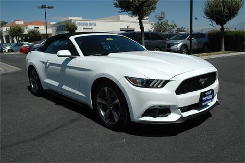 2015 Ford Mustang for sale in Hemet, CA