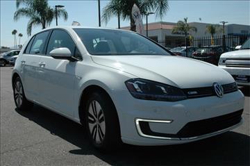 2015 Volkswagen e-Golf for sale in Hemet, CA