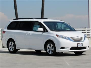 Used toyota sienna for sale north carolina for Nelson honda el monte