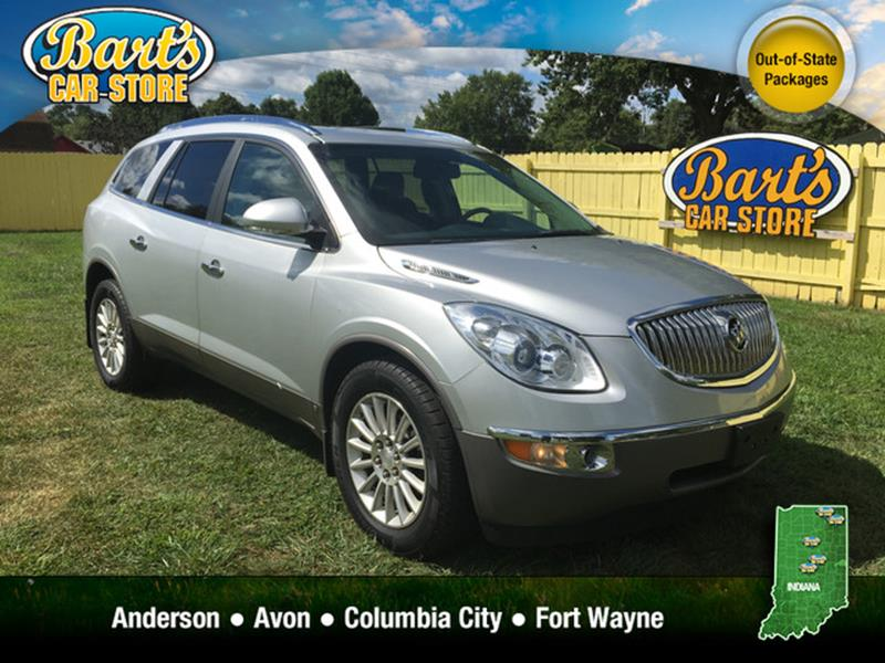 used 2010 buick enclave for sale in indiana. Black Bedroom Furniture Sets. Home Design Ideas