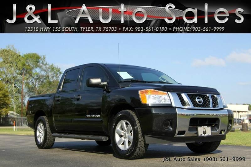 2013 nissan titan 4x2 sv 4dr crew cab swb pickup in tyler tx j l auto sales. Black Bedroom Furniture Sets. Home Design Ideas