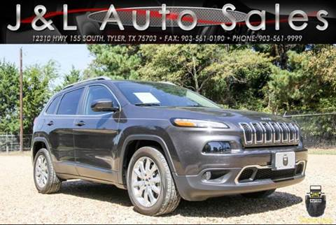 2016 Jeep Cherokee for sale in Tyler, TX