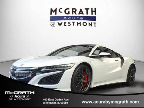 2017 Acura NSX for sale in Westmont, IL