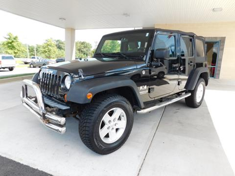 2008 Jeep Wrangler Unlimited for sale in Hollywood, MD