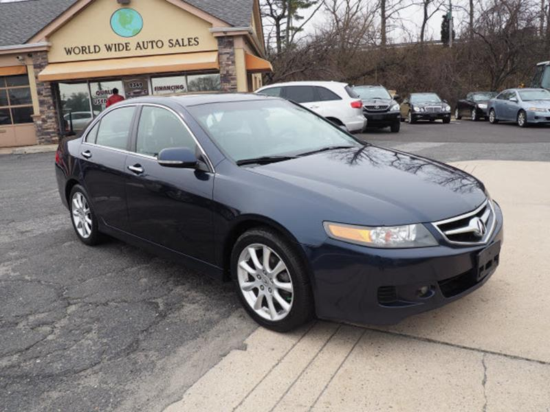 2008 Acura Tsx 4dr Sedan 5A In Trenton NJ - Worldwide Auto