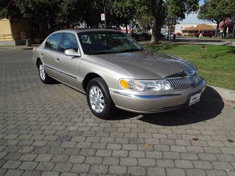 2001 Lincoln Continental for sale in Oakdale, CA