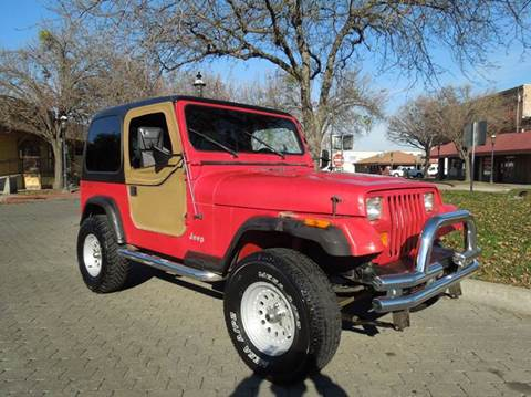 1992 Jeep Wrangler for sale in Oakdale, CA