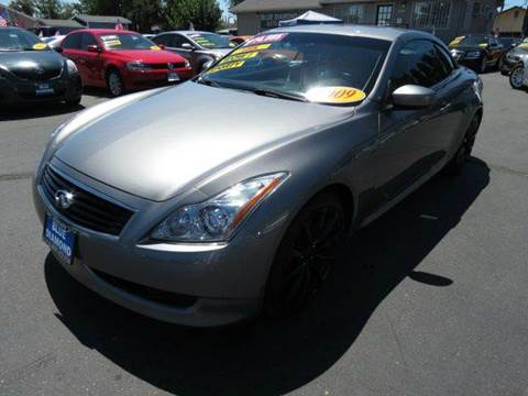 2009 Infiniti G37 Convertible for sale in Ceres, CA