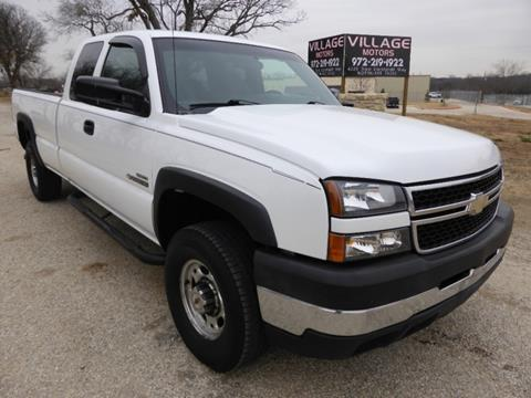 2006 chevrolet silverado 2500hd for sale in texas. Black Bedroom Furniture Sets. Home Design Ideas