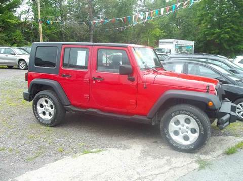 Lovely 2007 Jeep Wrangler Unlimited For Sale In Granville, NY