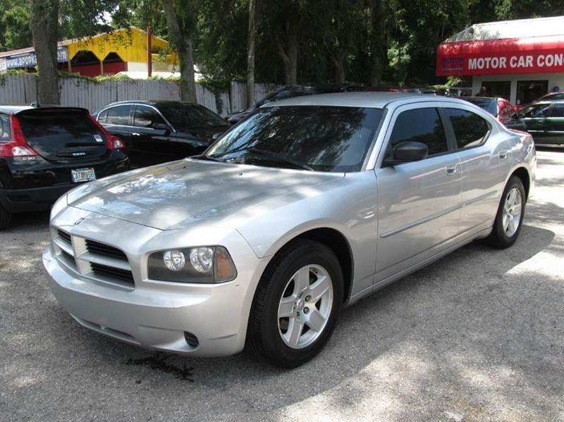 2008 dodge charger base 4dr sedan in orlando fl motor for Motor car concepts orlando fl