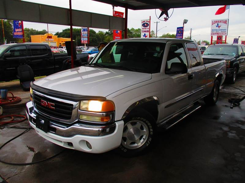 2003 gmc sierra 1500 4dr extended cab sle rwd sb in south for Lone star motors inventory
