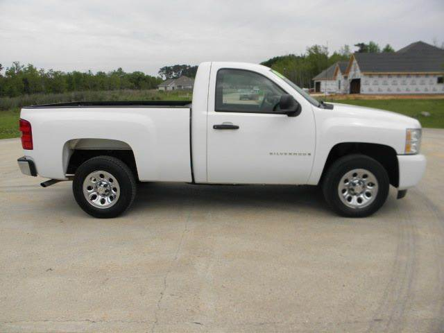 2009 chevrolet silverado 1500 work truck 4x2 2dr regular cab 6 5 ft sb in ponchatoula la. Black Bedroom Furniture Sets. Home Design Ideas